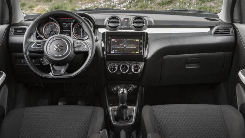 Nowy Suzuki Swift - deska rozdzielcza