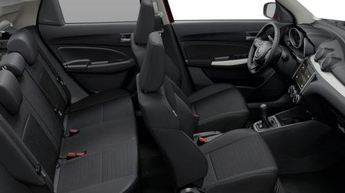 Suzuki Swift - kabina
