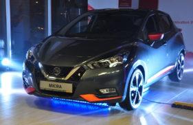 Szary Nissan Micra