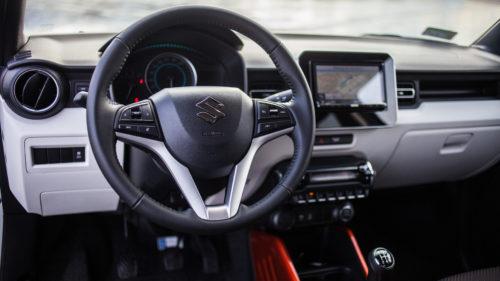 Suzuki Ignis - środek