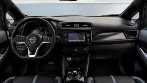 Nowy Nissan Leaf - wnętrze