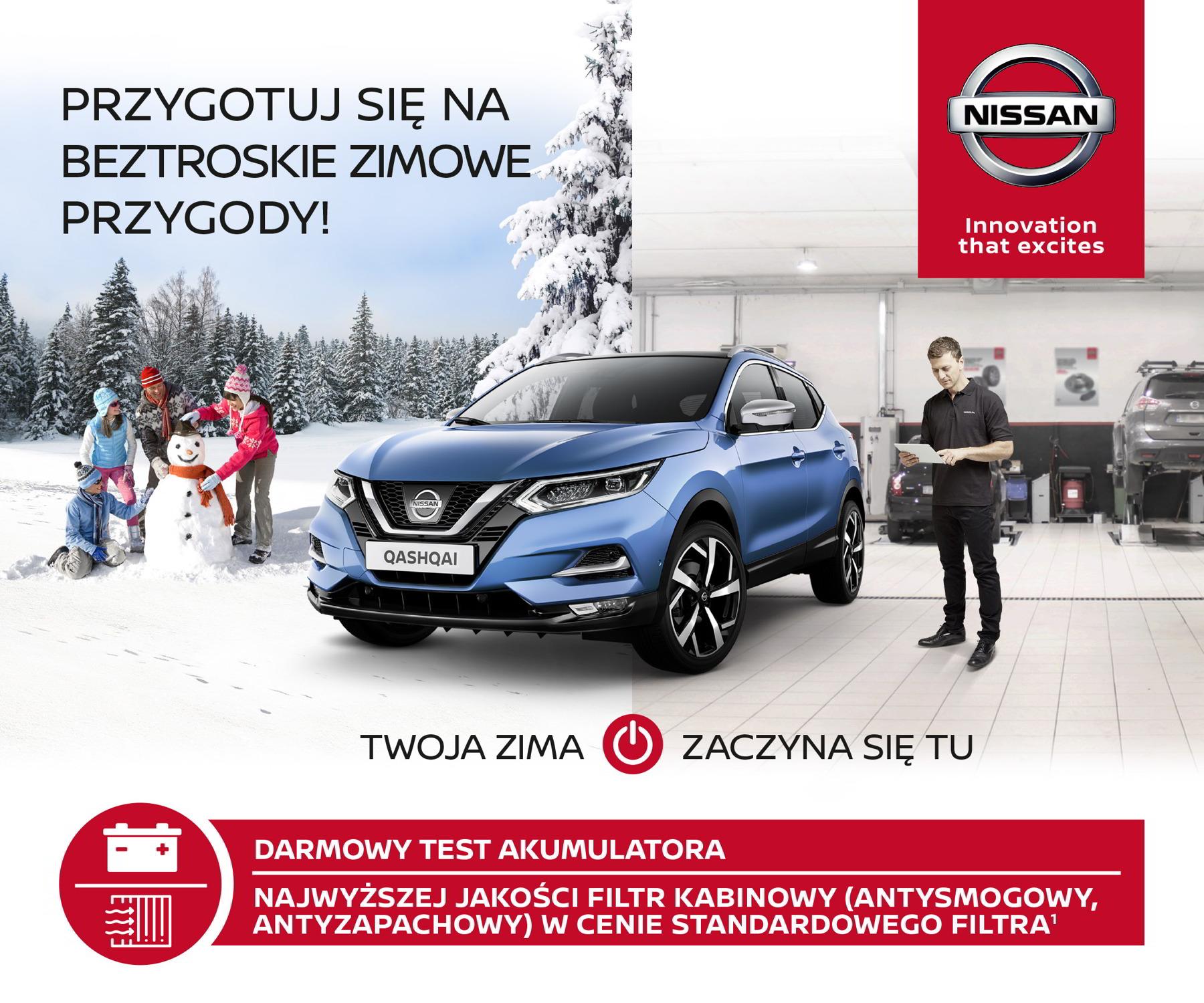 Akcja Wiosna 2018 Nissan