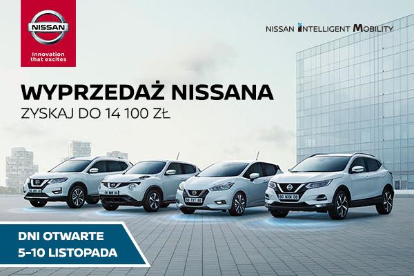 Dni otwarte Nissan 5-10 listopad 2018