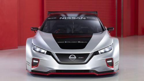 Nissan Leaf Nismo RC - przód