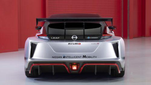 Nissan Leaf Nismo RC - tył