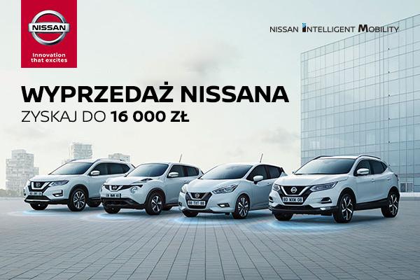 Wyprzedaż rocznika Nissan 2018