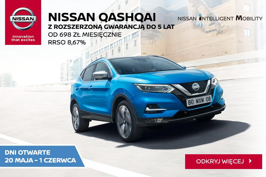 Dni otwarte Nissan od20 maja do1 czerwca 2019